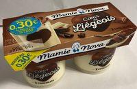 Coeur de Liégeois 3 chocolat - Produit - fr