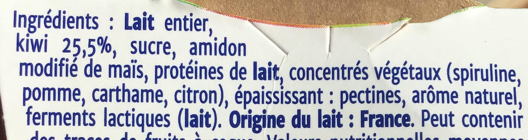 double plaisir kiwi - Ingredients - fr
