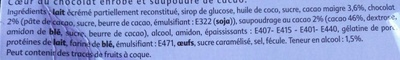 Le Truffé au Chocolat - Ingrediënten - fr