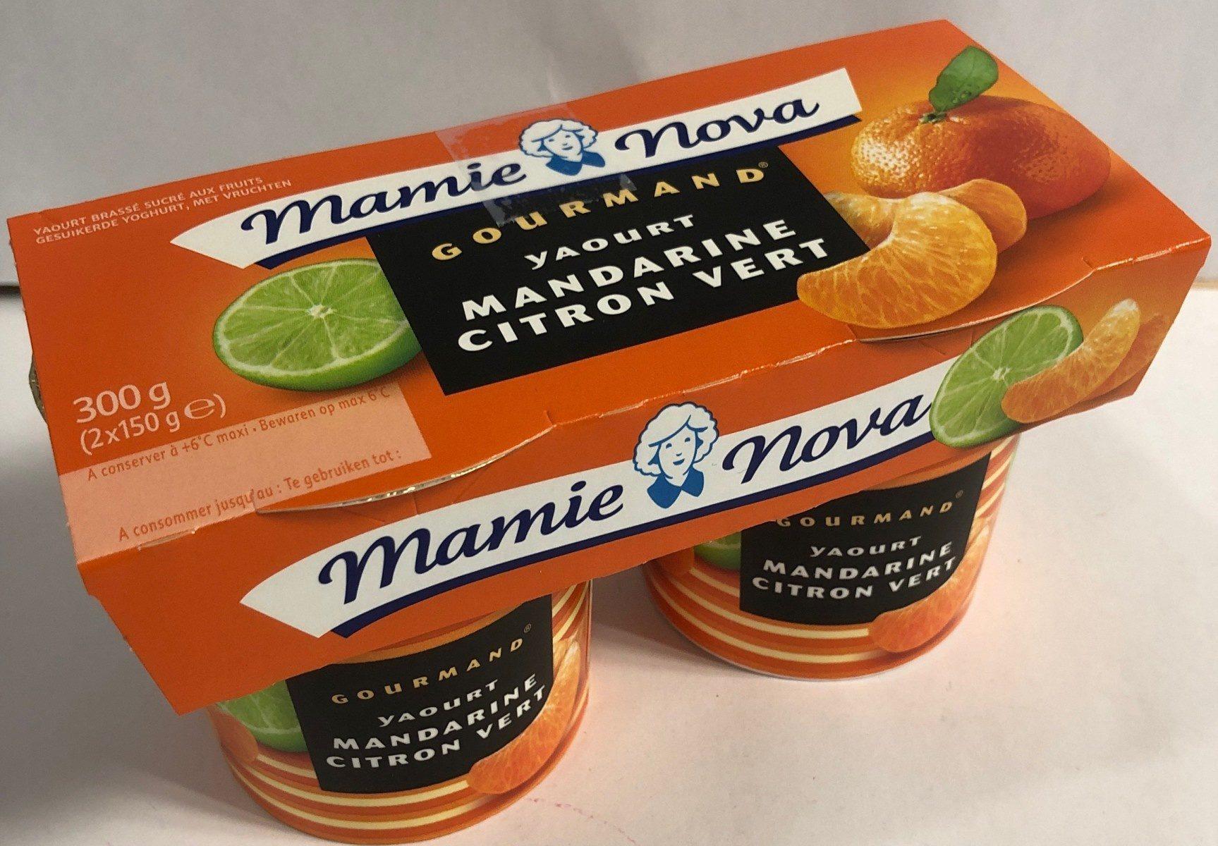 Gourmand Yaourt Mandarine Citron Vert - Product