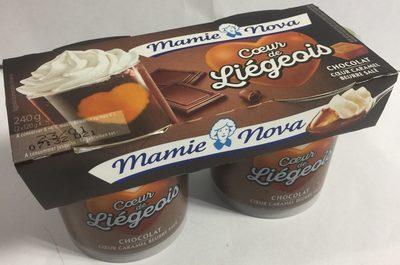 Liégeois Chocolat coeur Caramel beurre salé - Product - fr
