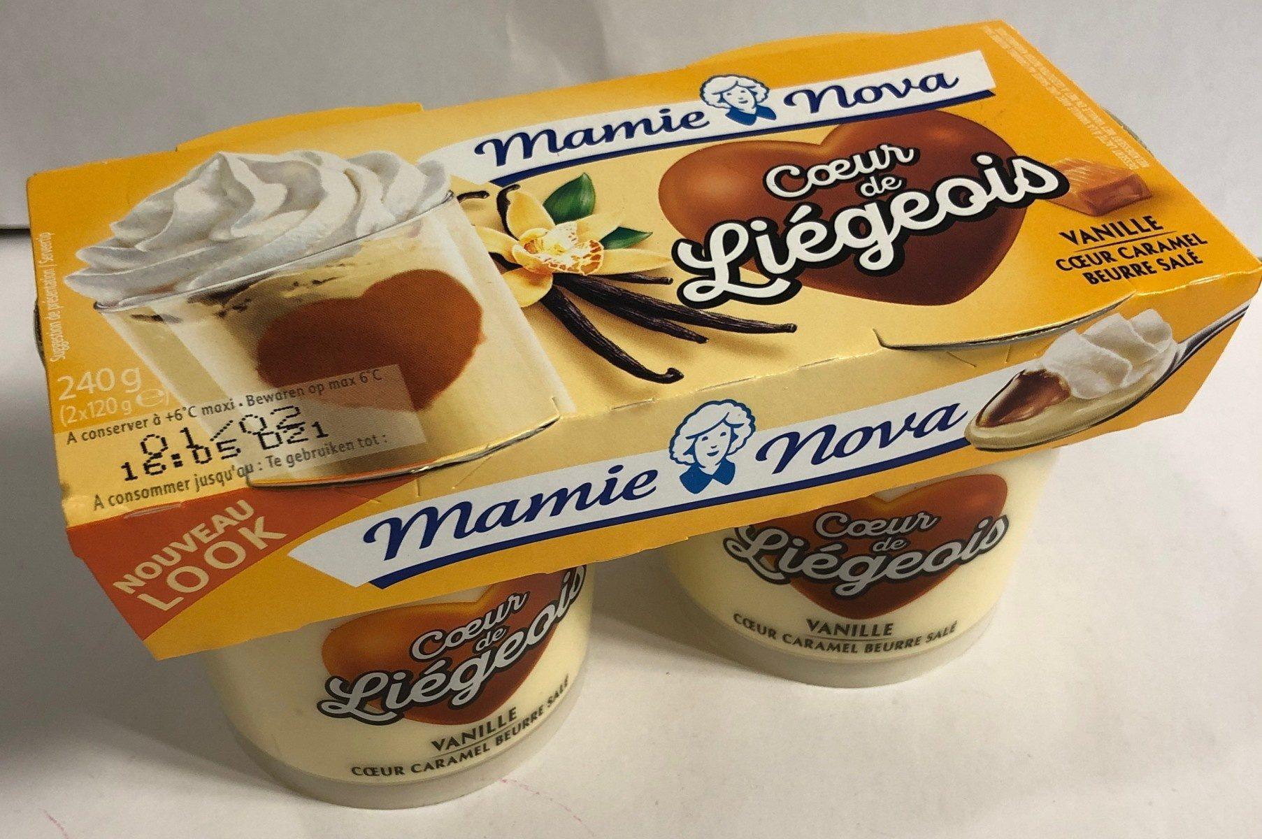 Coeur de Liégois Vanille Coeur Caramel Beurre Salé - Product