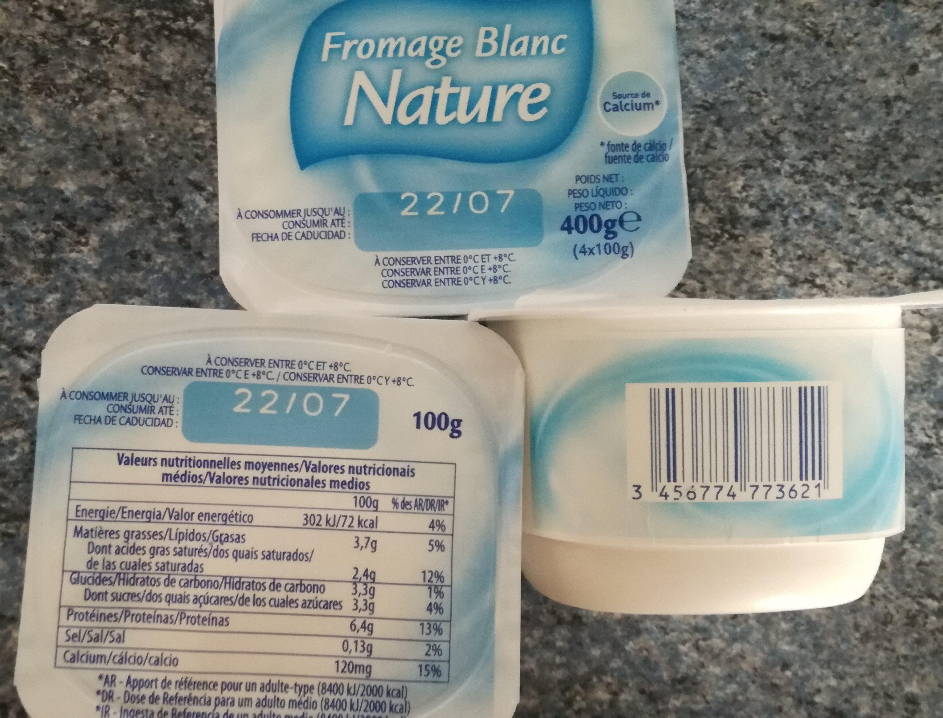Fromage Blanc Nature - Produit - fr