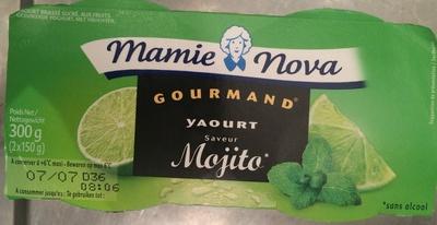 Yaourt saveur Mojito - Product - fr