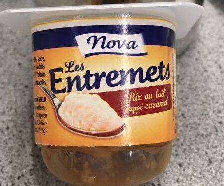 Les Entremets, riz au lait caramel - Produit - fr