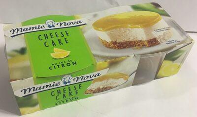 Cheese cake citron - Produit