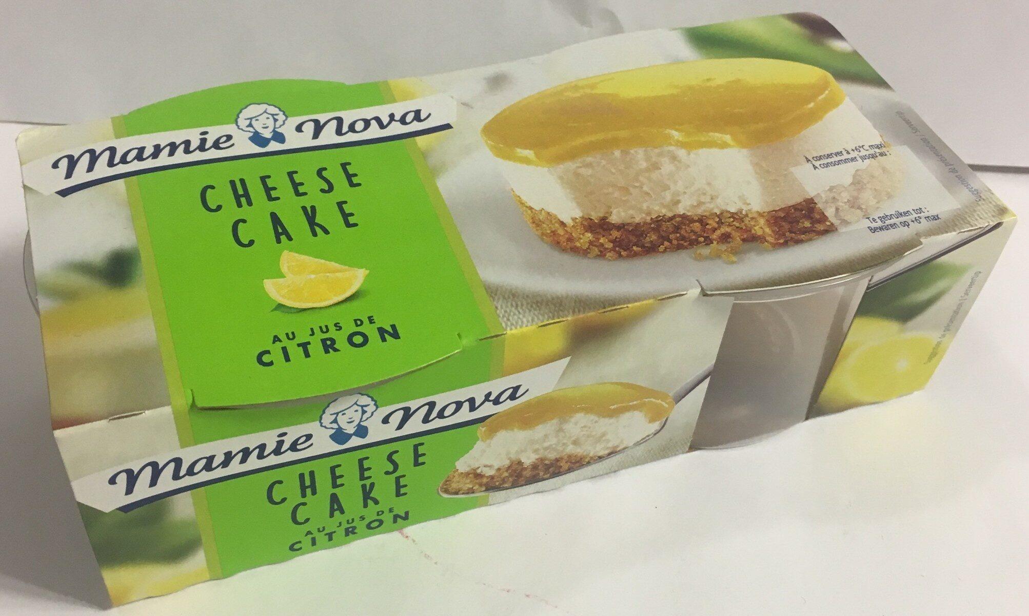 Cheese cake citron - Produit - fr