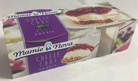Cheese cake cassis - Produit - fr