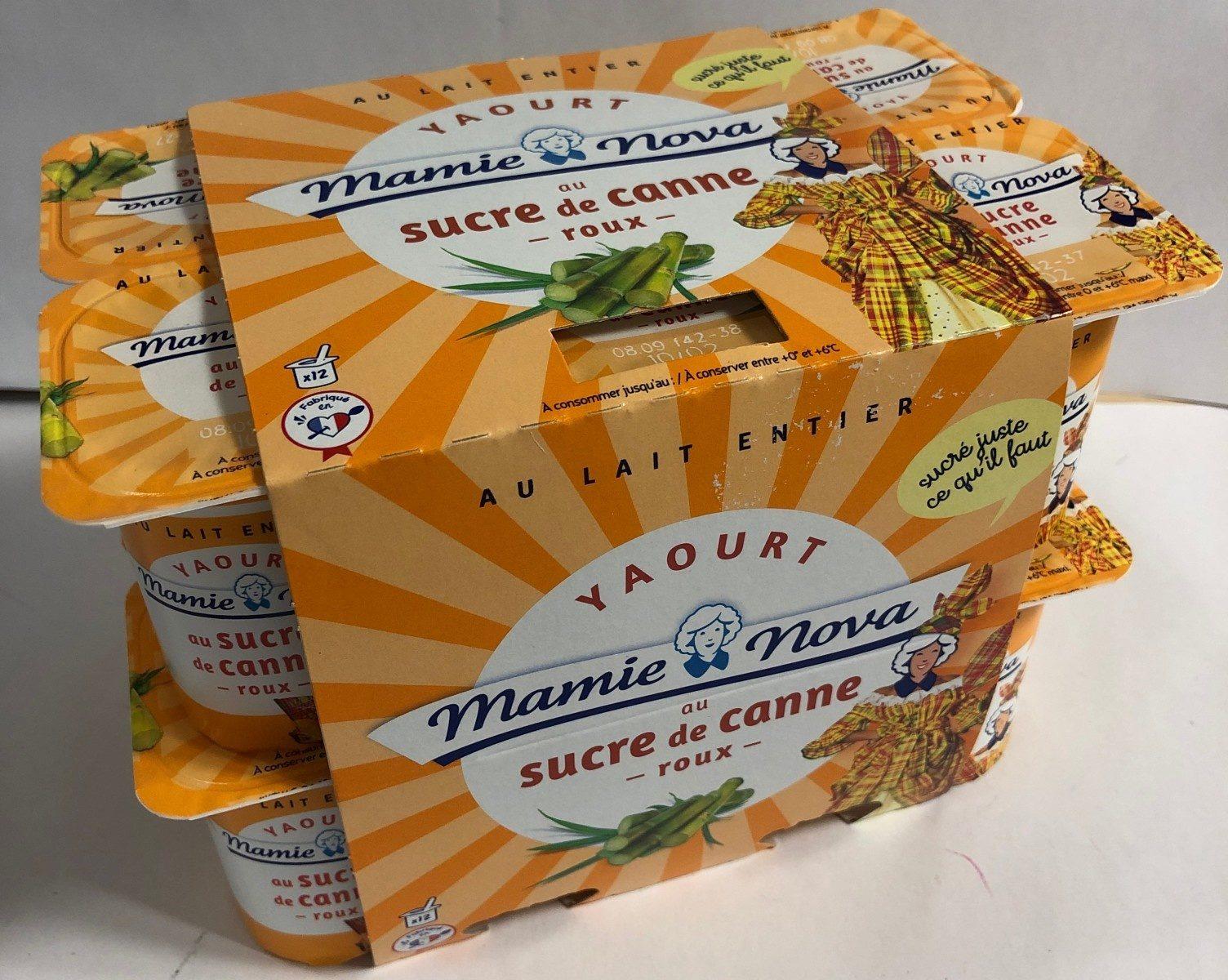 Yaourt Sucre de canne Roux 12x125g - Product