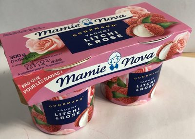 Yaourt Gourmant - litchi et rose - Product