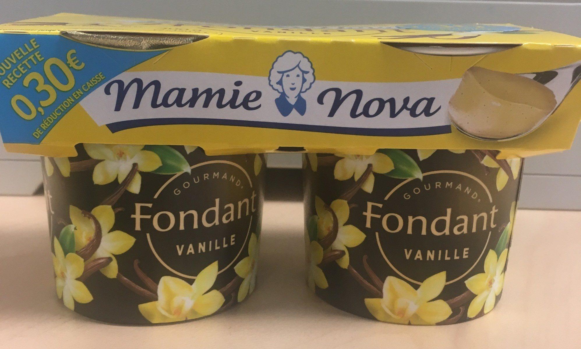 Fondant Vanille - Produit - fr