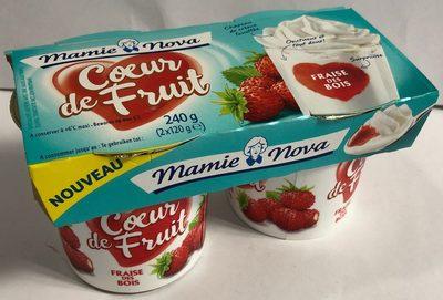 Coeur de fruit fraise des bois - Produit - fr