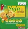 """Postre de soja """"Auchan"""" Frutas amarillas - Producto"""