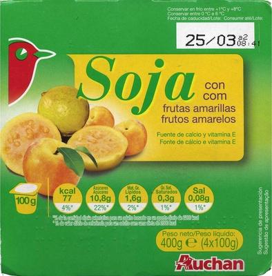 Yogur soja albaricoque y guayaba - Produit