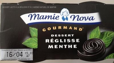 Dessert réglisse / menthe - Product