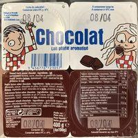 Lait gélifié aromatisé Chocolat - Product