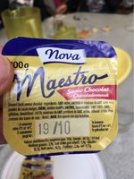 Maestro Liégeois Saveur Chocolat - Nutrition facts - fr