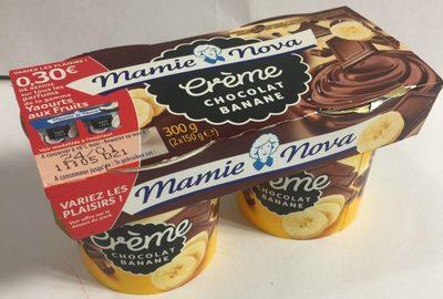 Crème chocolat banane - Product