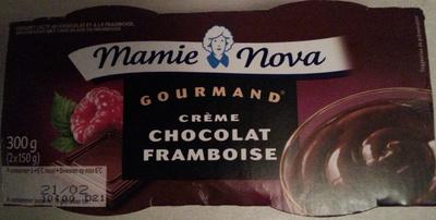 Gourmand crème Chocolat Framboise - Product - fr
