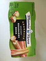 Gourmand® Yaourt Rhubarbe rose - Product - en