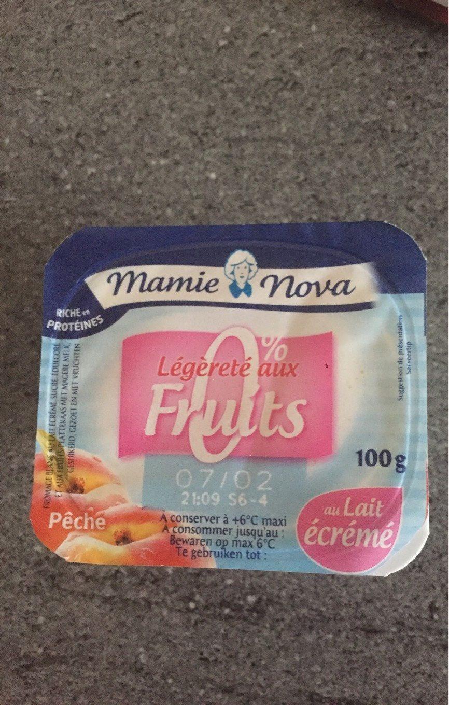 Légéreté aux Fruits 0% - Produit - fr