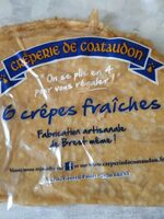 Crêpes fraiches - Product - fr