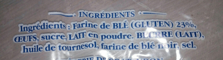 Crêpes fraiches - Ingredients - fr