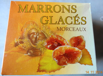 Marrons Glacés Morceaux - Product - fr