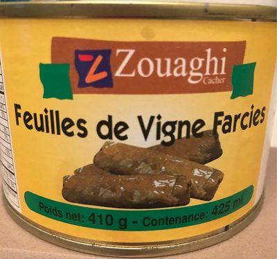 Feuilles de vigne farcies - Produit - fr