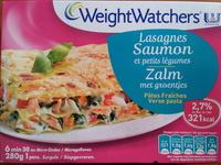 Lasagnes Saumon et petits légumes, Pâtes Fraîches (2,7 % MG), Surgelé - Product - fr