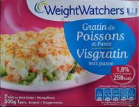 Gratin de Poissons et Purée (1,8 % MG), Surgelé - Product - fr