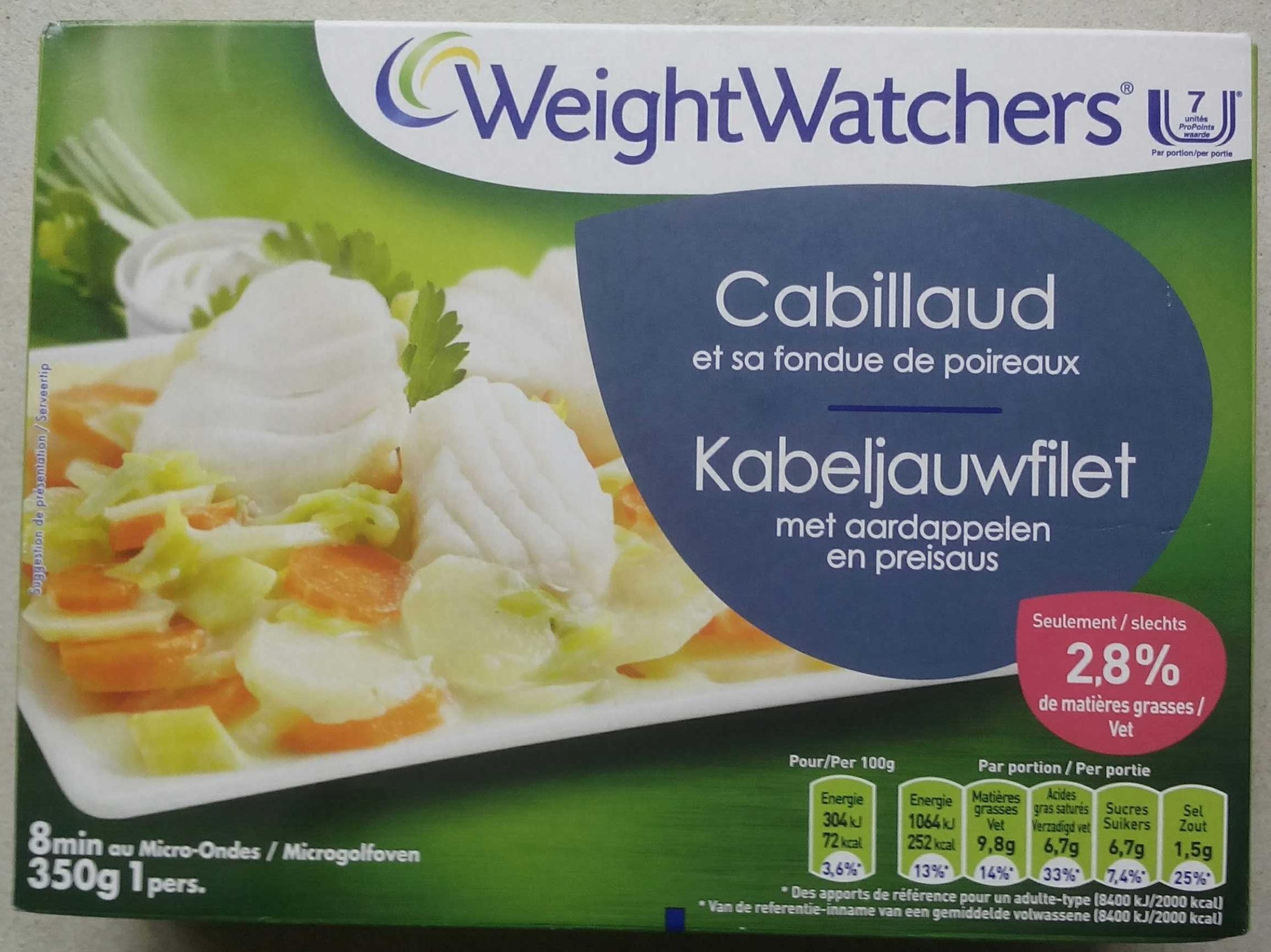Cabillaud et sa fondue de poireaux - Product - fr
