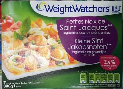 Petites Noix de Saint-Jacques, Tagliatelles aux tomate confites (2,4 % MG) - Produit - fr