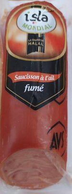 Saucisson à l'ail fumé - Produit - fr