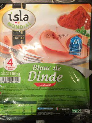 Blanc de dinde isla mondial 160 g - Cuisiner blanc de dinde ...