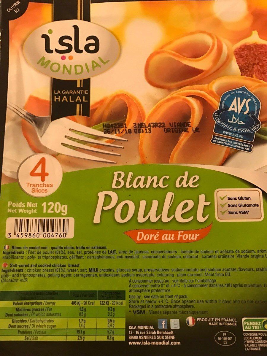 Blanc de poulet - Product - fr