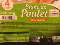 Blanc de poulet - Ingrediënten - fr