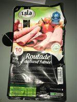 Roulade de bœuf halal fumée Isla - Product - fr