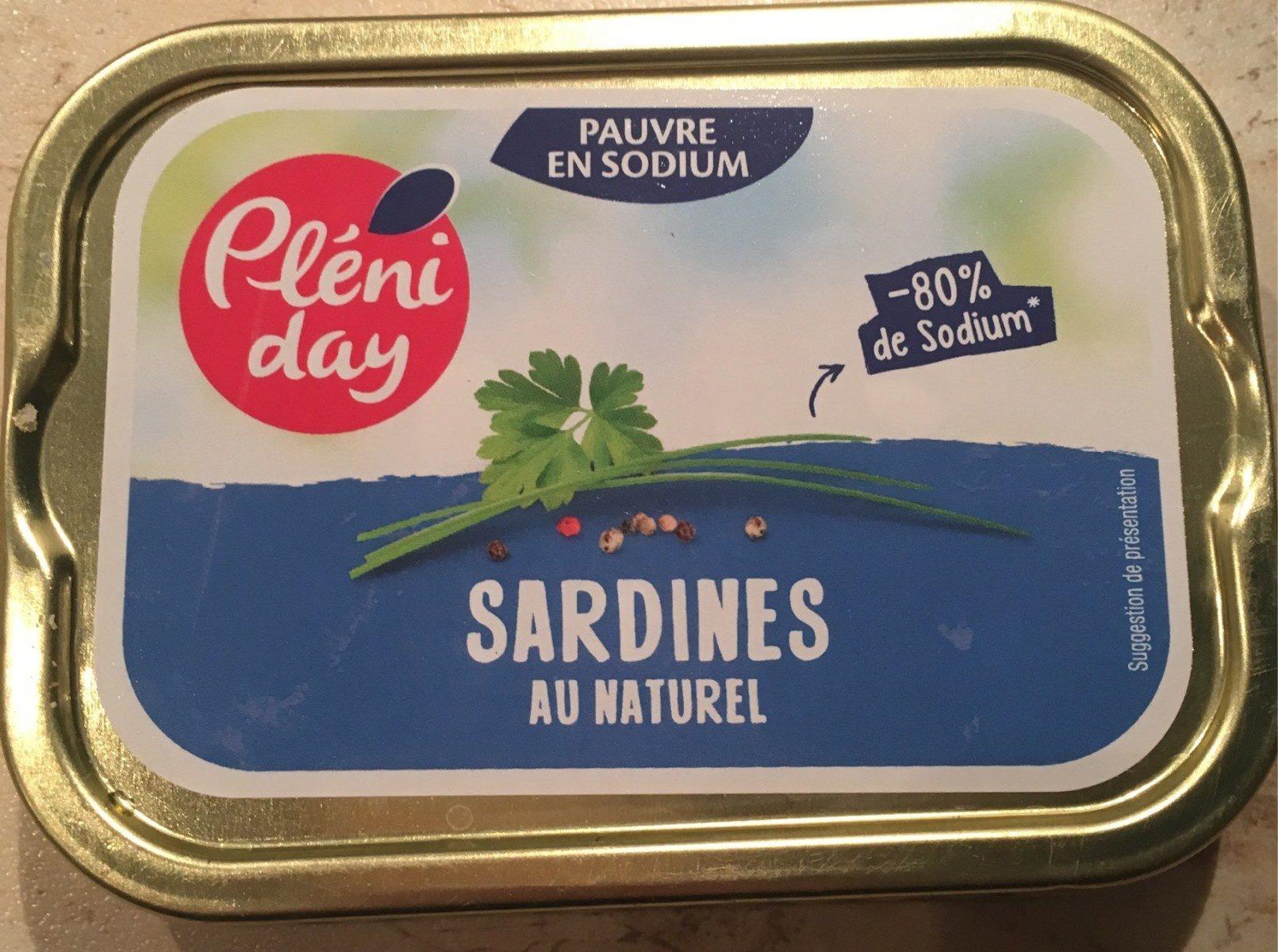 Sardines au naturel - Product - fr