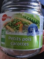 PETIT POIS-AROTTE 370G ALLEGE EN SEL - Produkt - fr