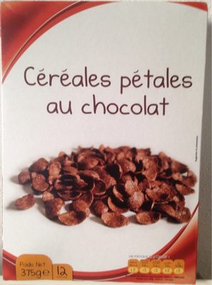 Céréales pétales au chocolat - Product