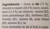 Céréales pétales au chocolat - Ingredients
