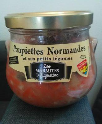 Paupiettes Normandes et ses Petits Légumes - Produit