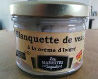 Blanquette de veau à la crème d'Isigny - Produkt - fr