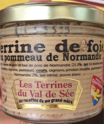 Terrine de foie au pommeau de Normandie - Product