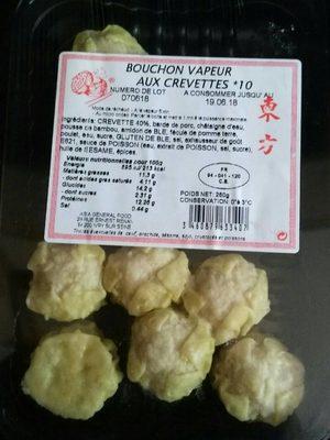 Bouchon Vapeur aux Crevettes - Product - fr