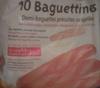 10 Baguettines - Produit