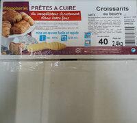 Croissants au beurre - Produit