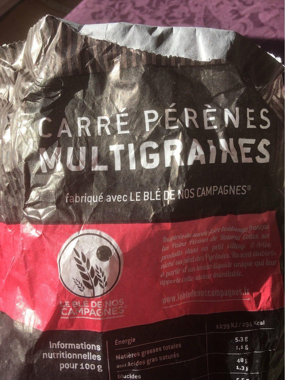 Carre pérènes multigraines - Produit - fr