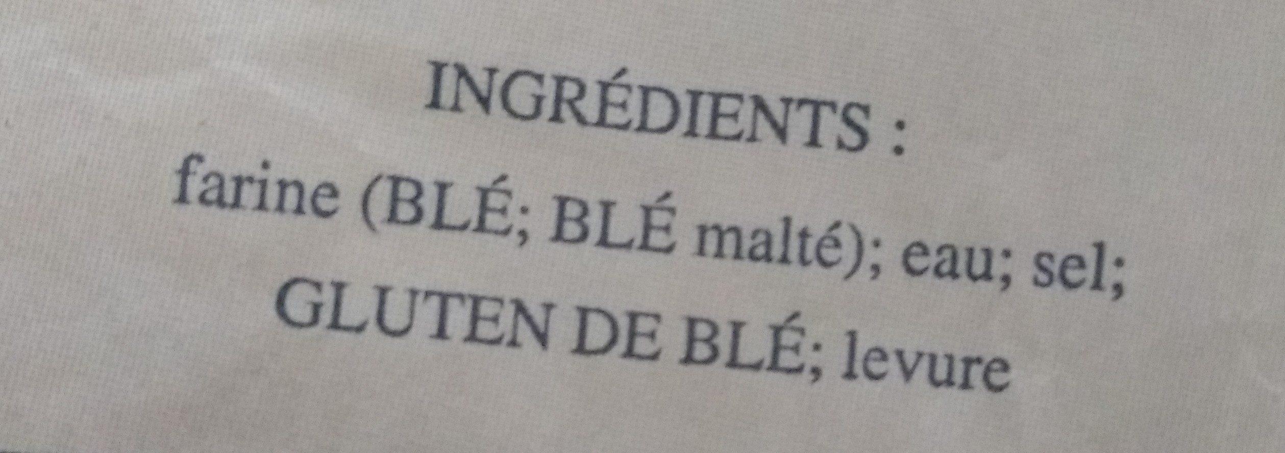 Baguette La Duchesse - Ingrediënten - fr